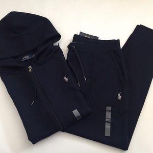 Polo Ralph Lauren NAVY Hoodie Sweatpants Set